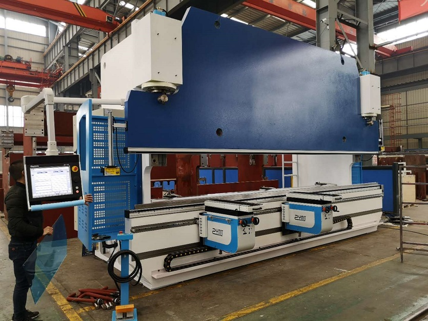 Hybrid CNC Press brake export Korea